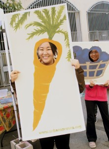 youth in urban sprouts cut outs