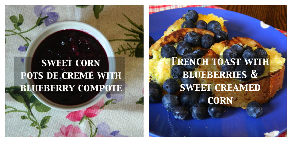 blueberries two ways